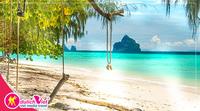 Du lịch Thái Lan - Bãi biển Koh Kradan