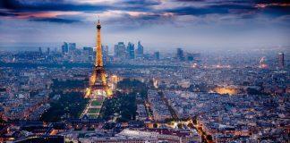 Thành phố Paris Du lịch Pháp lúc rạng sáng