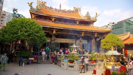 Du lịch Đài Loan - Đền Long Sơn điểm thu hút khách du lịch